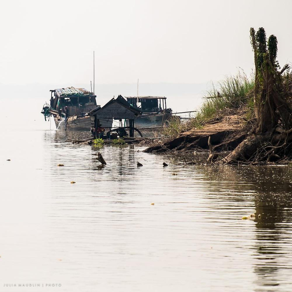 Kampong Cham, Photographie par Julia Maudlin