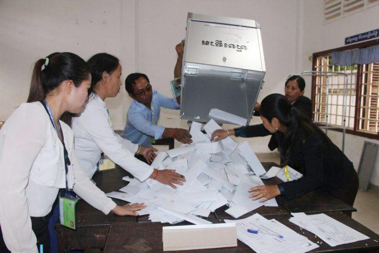 Dépouillement à Siem Reap