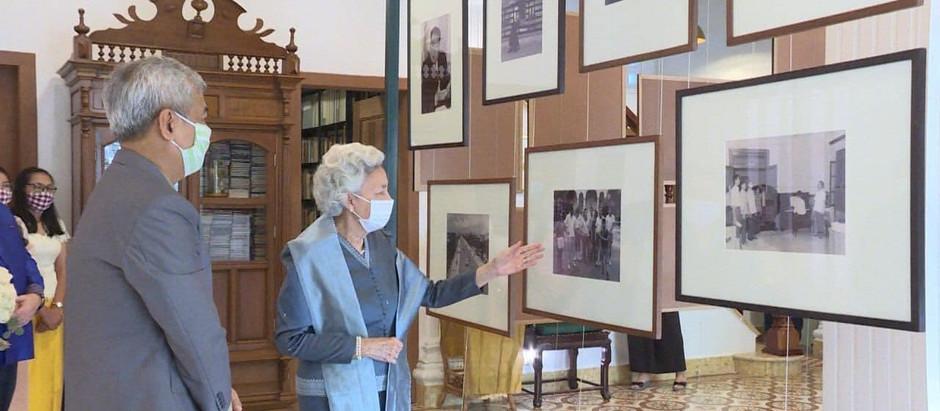 Mémoire : Inauguration de la « Queen Mother Library » et de l'institut Sleuk Rith.