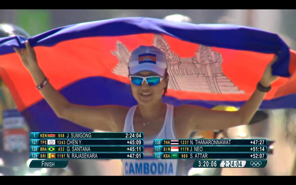 Jeux Olympiques : Deux athlètes cambodgiennes battent leur record