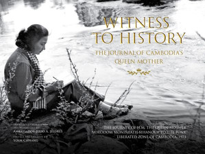 Livre : « Witness to history », The Journal of Cambodia's Queen Mother Norodom Monineath Sihanouk