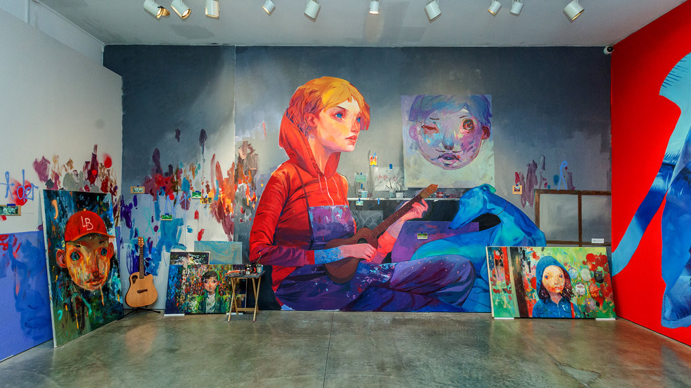 Oeuvre d'Andrew Hem (USA/Cambodge)