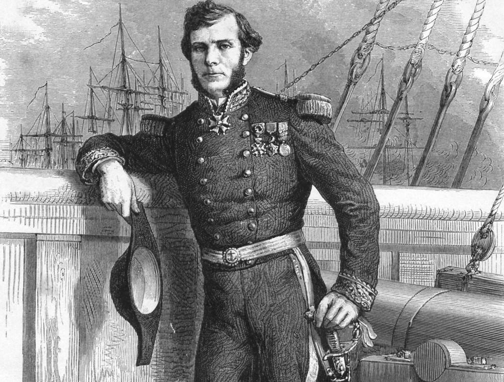 Le capitaine de frégate Ernest Doudart de Lagrée