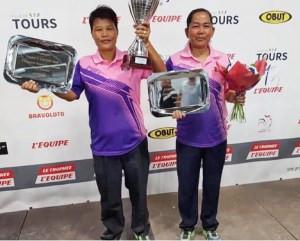Le Cambodge remporte une médaille d'or au Championnat du monde de pétanque