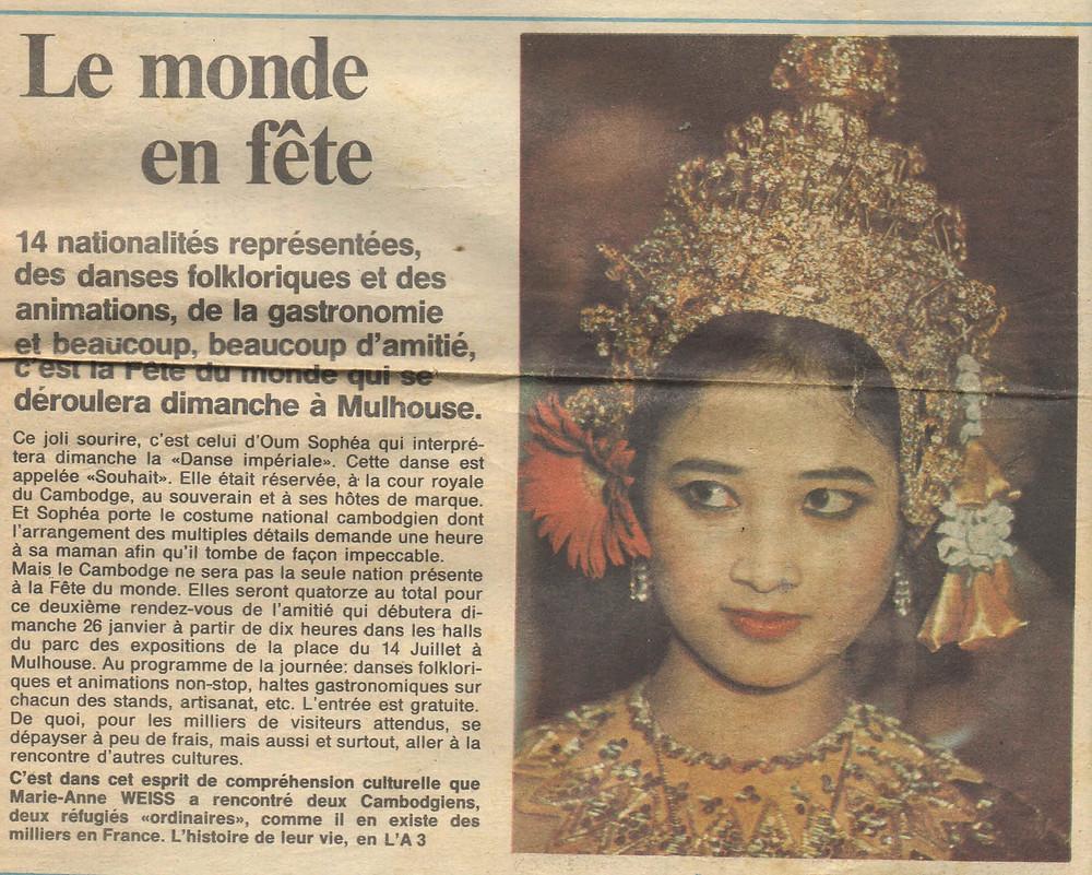 Souvenir...dans la presse française