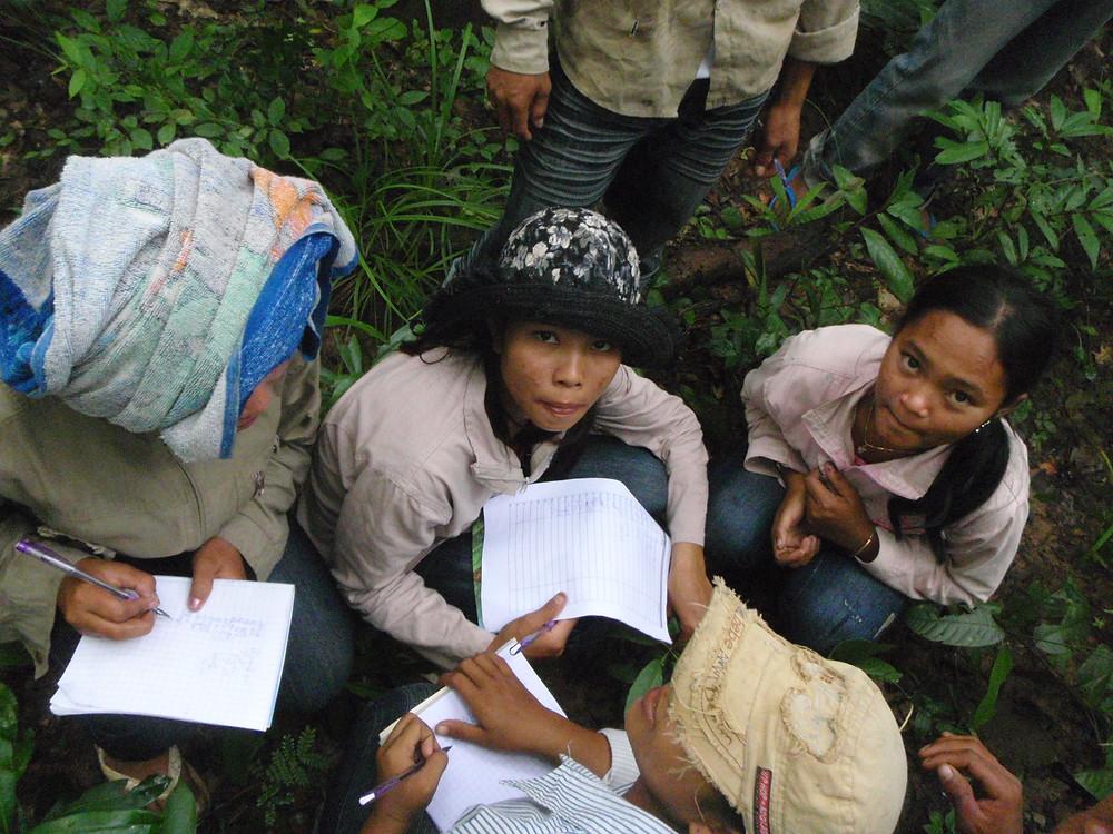 Enquête auprès des jeunes autochtones Kuy sur la biodiversité