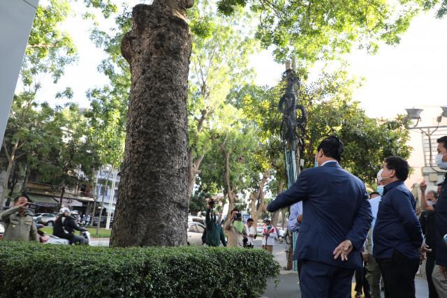 Les arbres centenaires du parc Canadia  ne seront pas abattus