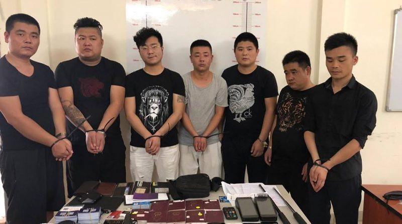 Arrestation à Sihanoukville