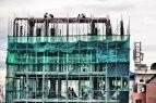 Construction en cours dans Phnom Penh. Photographie Christophe Gargiulo