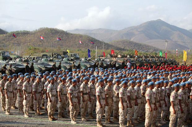 Armée - Chine : Début des opérations militaires Dragon d'or