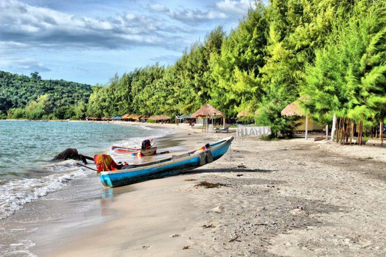 La plage de Bak Klong
