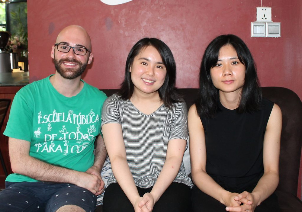 Antoine Flores Garcia, Sara Aratake et Hsin Di Shih