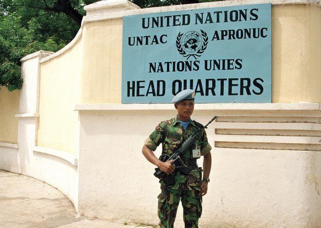l'APRONUC au Cambodge