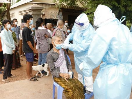 Cambodge & COVID-19 : Plus de 1000 nouvelles récupérations, mais 542 nouveaux cas