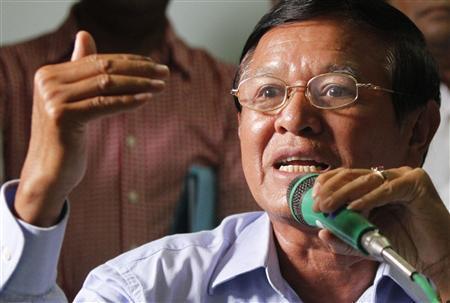 l'ancien dirigeant du CNRP, Kem Sokha,