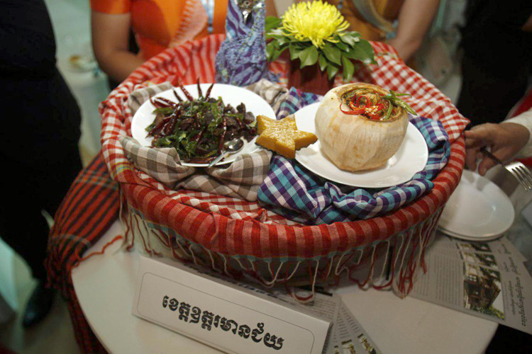 Le Cambodge a une riche tradition alimentaire