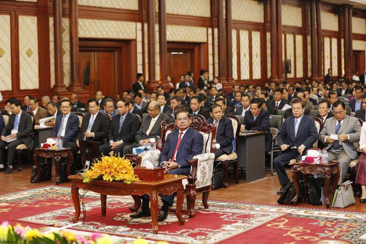 cérémonie d'ouverture de la réunion annuelle du ministère de l'Intérieur