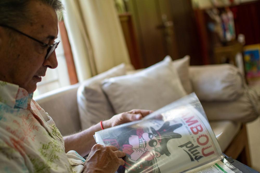 Bambou, un «petit fanzine» tiré à 5000 exemplaires, créé et dirigé par Stef