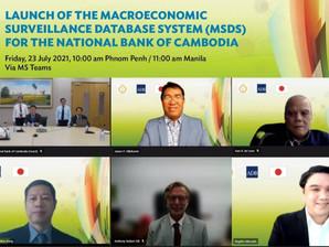 Cambodge & Économie : Inauguration d'un système de base de données de surveillance macroéconomique
