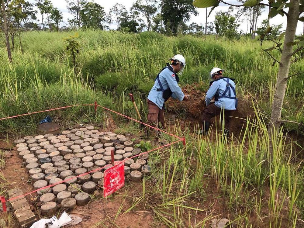 Déminage : Le Royaume-Uni soutiendra le Cambodge