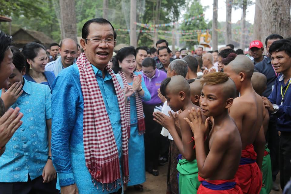Angkor Sankranta est aussi l'occasion de montrer aux touristes et amis étrangers la gloire et la richesse de notre culture