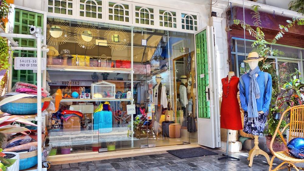 Le magasin de la créatrice Sirivan