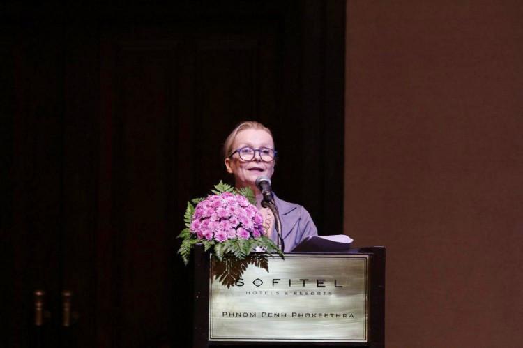 Mme Anne Lemaistre, représentante de l'UNESCO au Cambodge