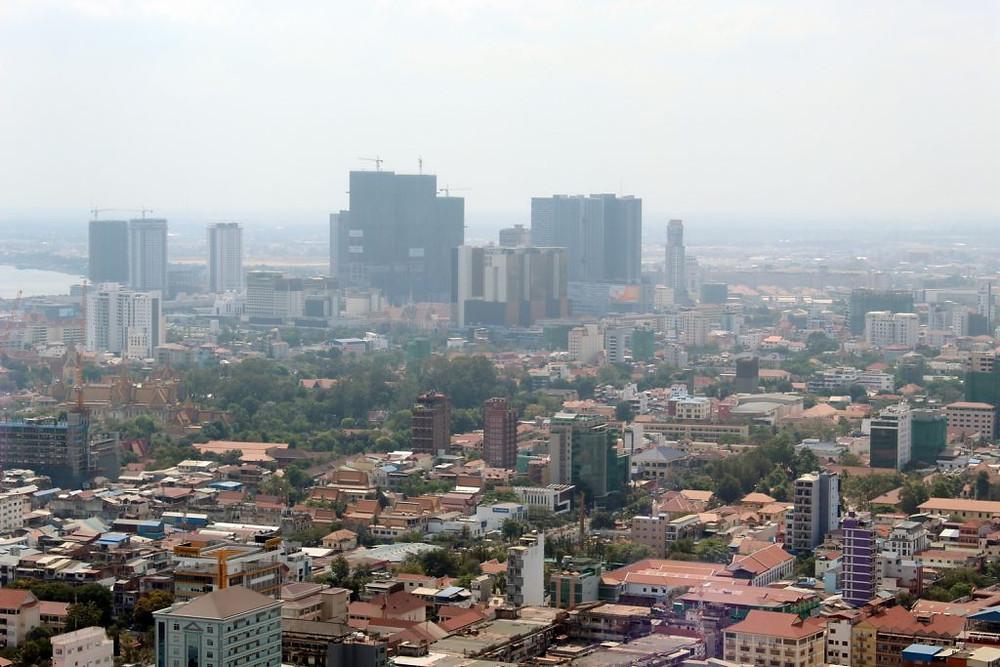 Tour Vattanac : Phnom Penh en hauteur...