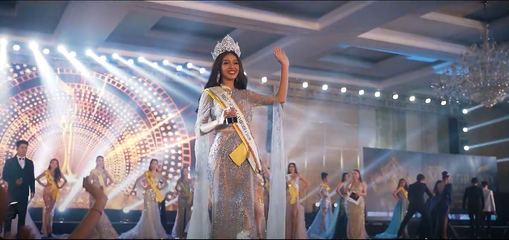 Seng Ratha, lauréate de l'élection Miss Grand Cambodia 2020