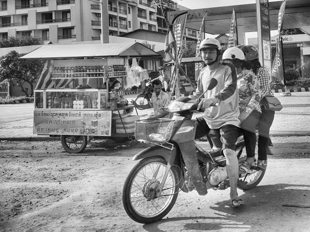 Les rues de Siem Reap