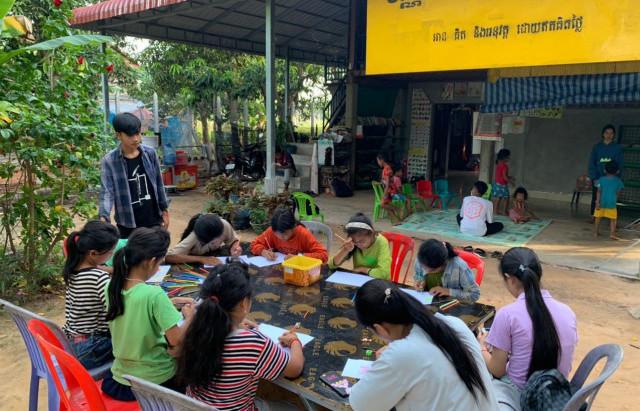 Siem Reap & initiative : Les bibliothèques de village de Soth Bopha