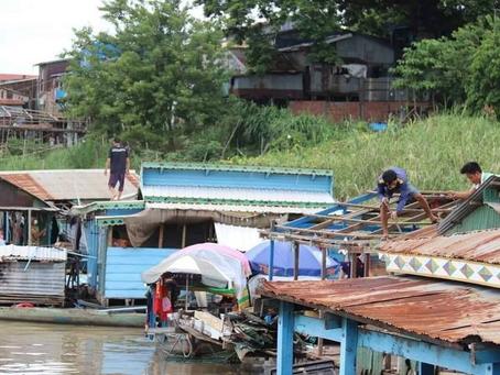 Phnom Penh : Expulsion prévue des communautés riveraines pour « préserver l'environnement »