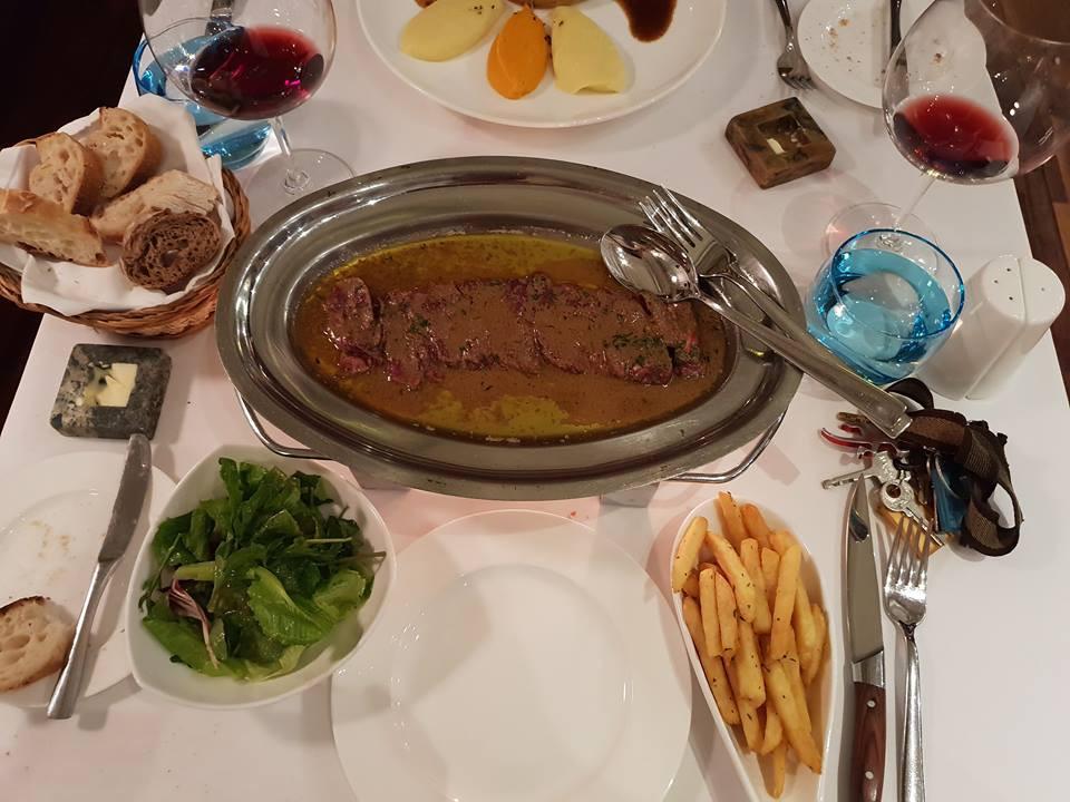 Steak café de Paris