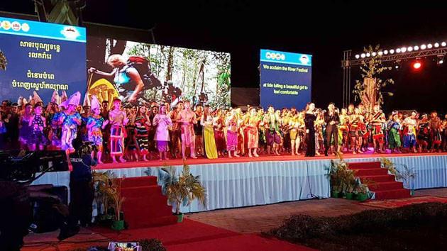 Festival de la Rivière à Stung Treng en 2017