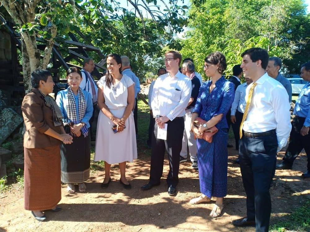 Célébration du 30e anniversaire du Fonds mondial pour les monuments à Phnom Bakheng