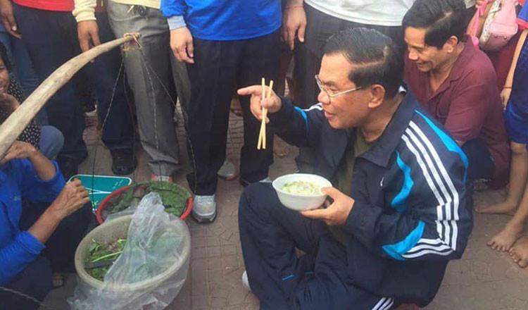 Num Banh Chok : Premier ministre, ''Entre 7 et 8 millions de Cambodgiens suivront mon appel...''