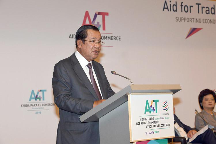 Le Premier ministre du Royaume du Cambodge