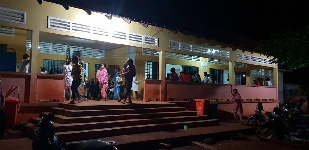 73 personnes ont été hospitalisées dans trois hôpitaux de la province de Kratié et de Phnom Penh