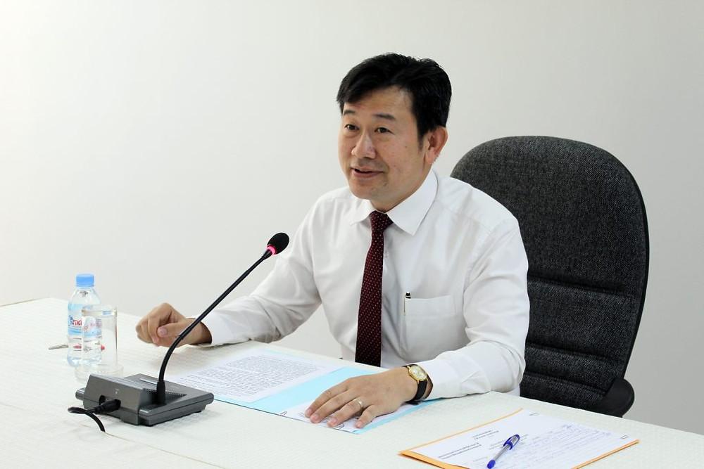 S.E. Dr Chhiv Yiseang,Président de l'Institut National de Diplomatie et des Relations Internationales