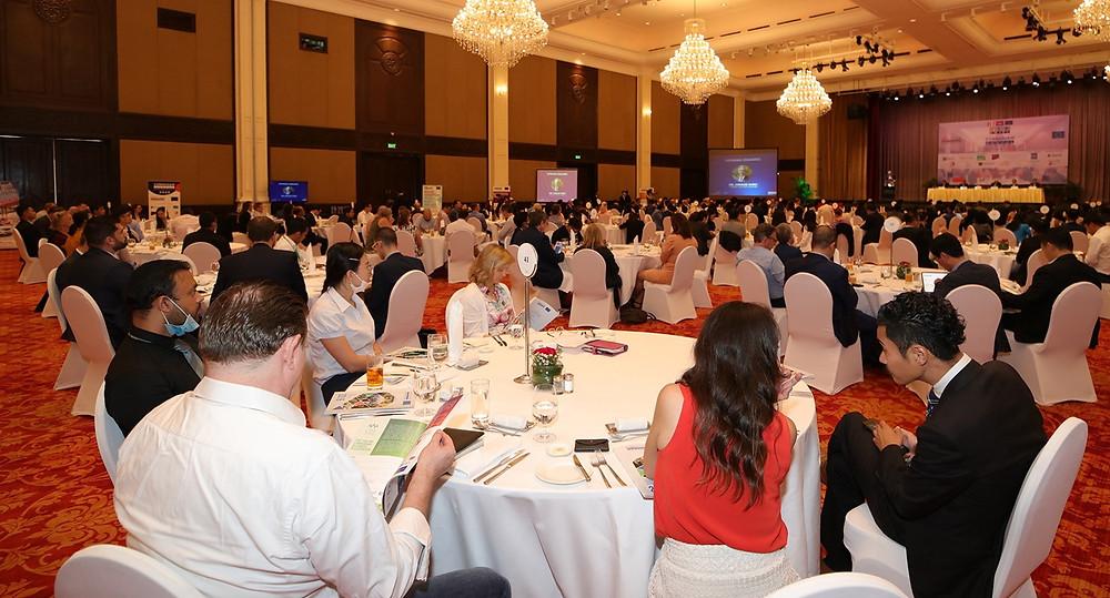 Lors de l'assemblée générale d'EuroCham. Photo Eurocham-J.Montessuis