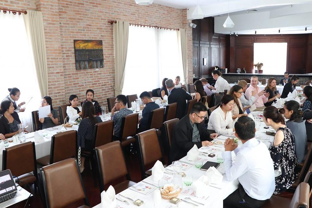 Déjeuner-Conférence à Khéma La Poste