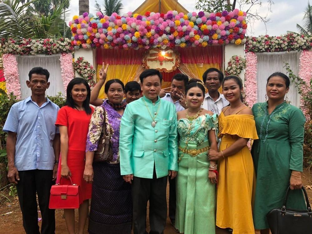 Mariage de Soknim et Vanthi