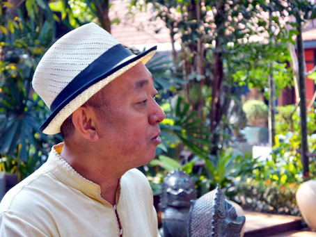 Dans l'atelier de… : Lim Muy Thea, artiste à la recherche du temps