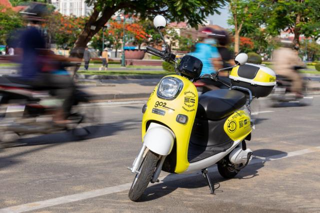 Voltra est le premier vélo électrique fabriqué au Cambodge
