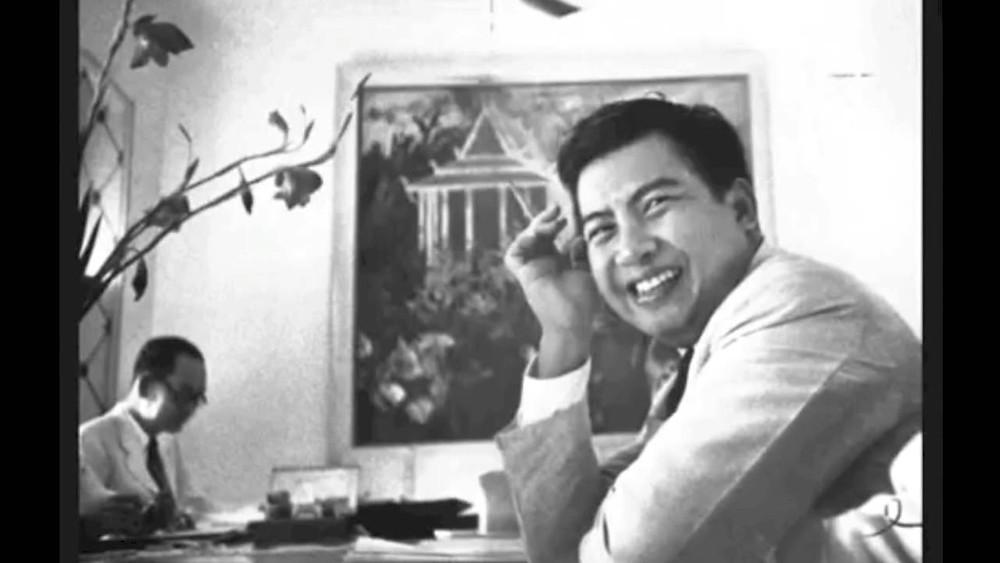 Le roi Norodom Sihanouk durant le sangkum