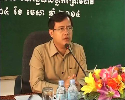 L'ancien gouverneur de la province de Takeo, Lay Vanak