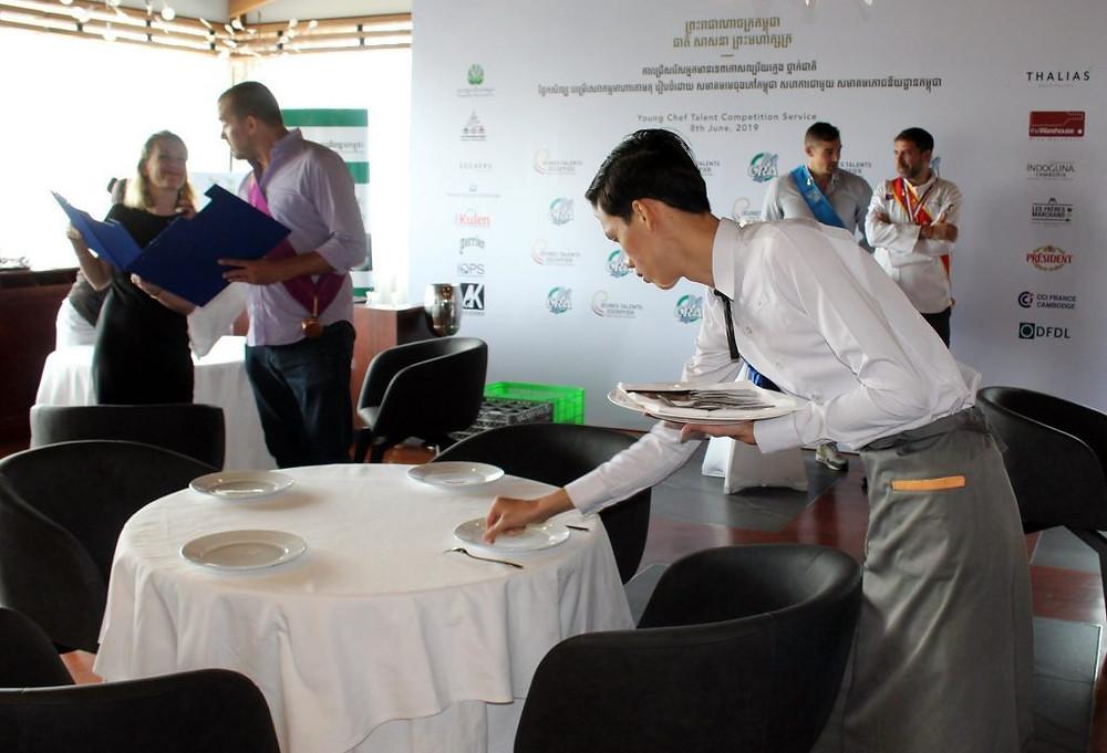 Escoffier Cambodge : Jeunes talents et art de la table