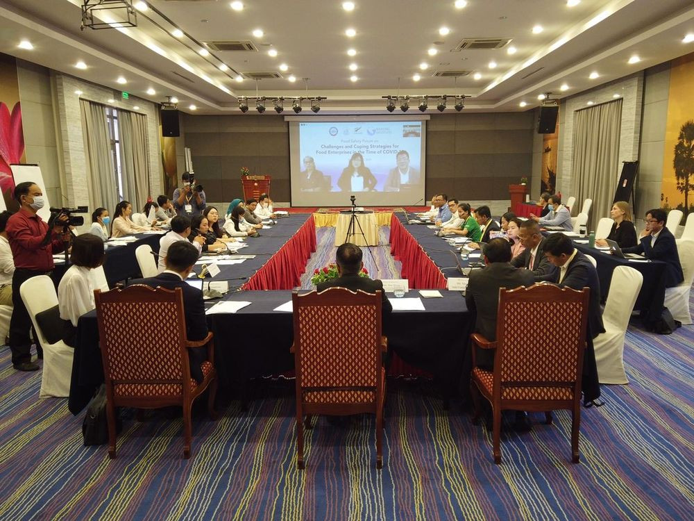 Forum sur la sécurité alimentaire, défis et stratégies d'adaptation pour les entreprises alimentaires à l'époque du COVID-19