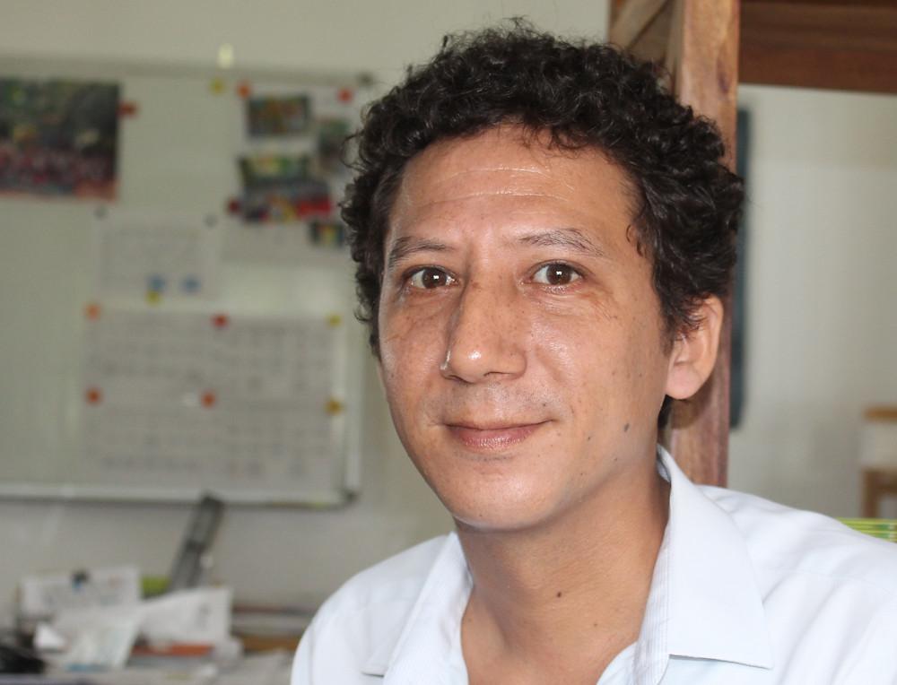 Gildas Maronneaud, propriétaire et directeur de l'établissement