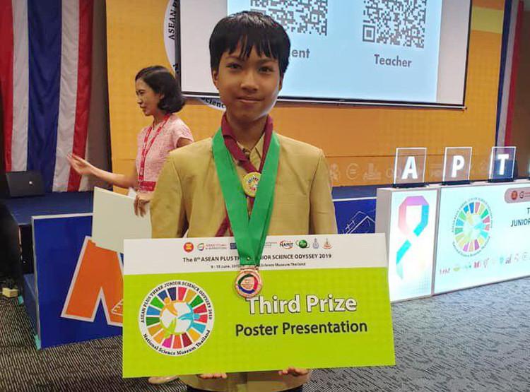 Le Cambodge remporte sept médailles de bronze de la 8e Odyssée scientifique de l'ASEAN Plus Trois 2019